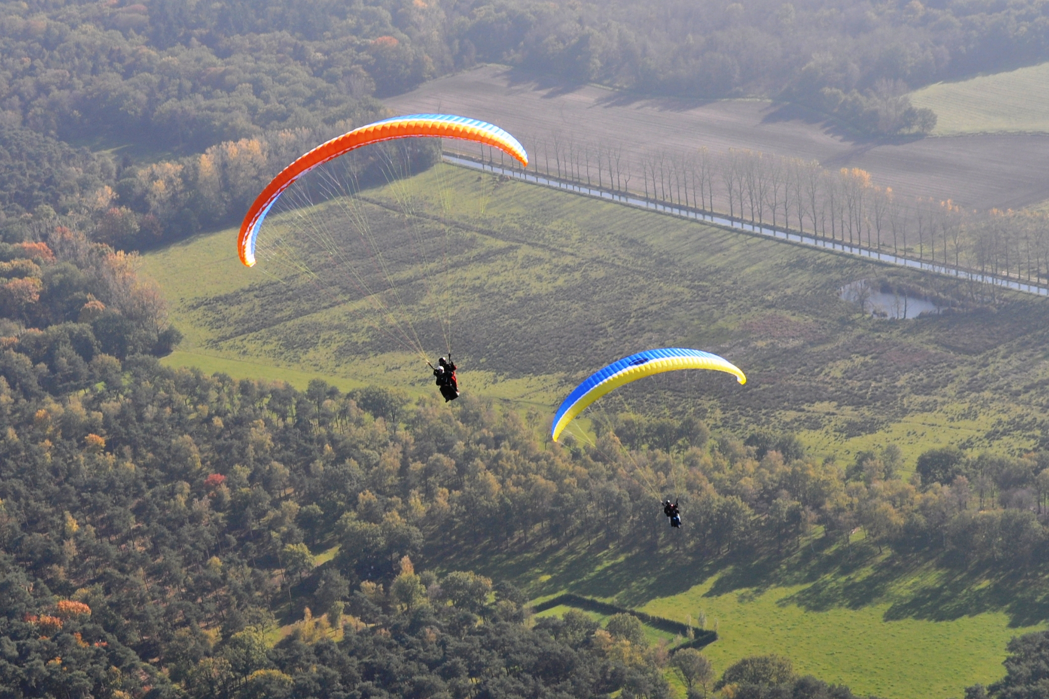 Paragliding Experience!