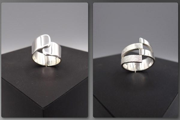 Betere Gezellige middag zilveren ring maken! XC-39