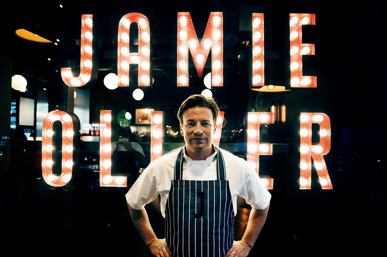 Lunch bij Jamie Oliver in de Markthal!