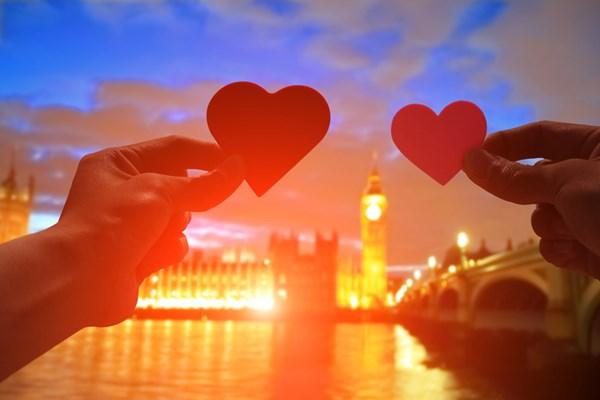 Londen romantisch