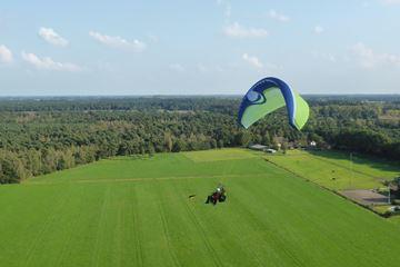 Paragliden uitzicht