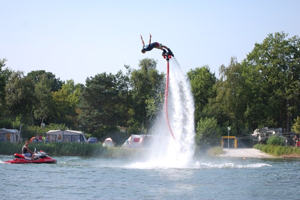 Flyboarden duiken