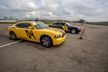 Dragrace Dodge Charger