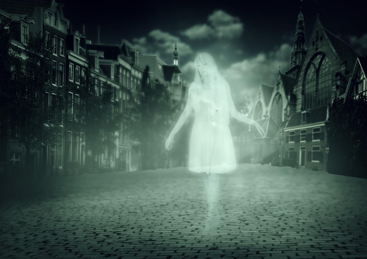 Spookwandeling in Amsterdam!