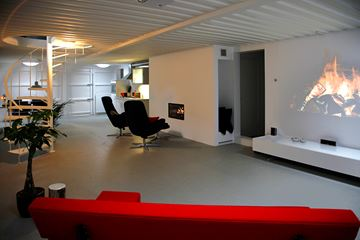 Hidden House interieur