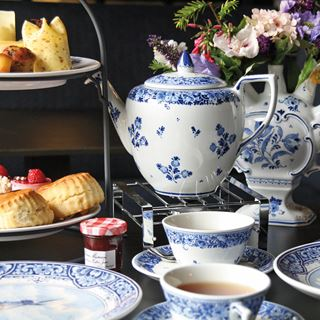 Delftsblauwe High Tea