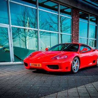 Ferrari Modena 360 Rood