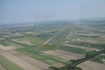 Uitzicht vanuit cockpit