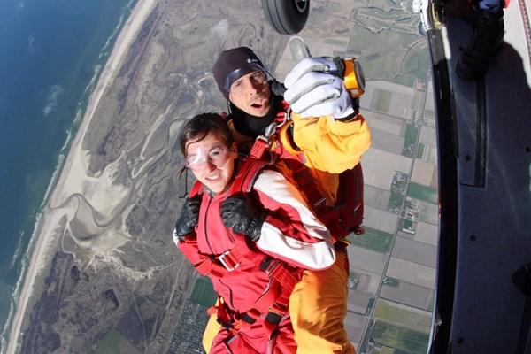 Parachutespringen Nederland
