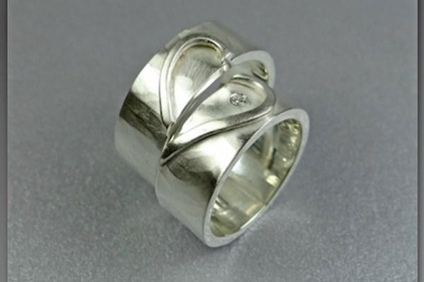 Zilveren relatieringen