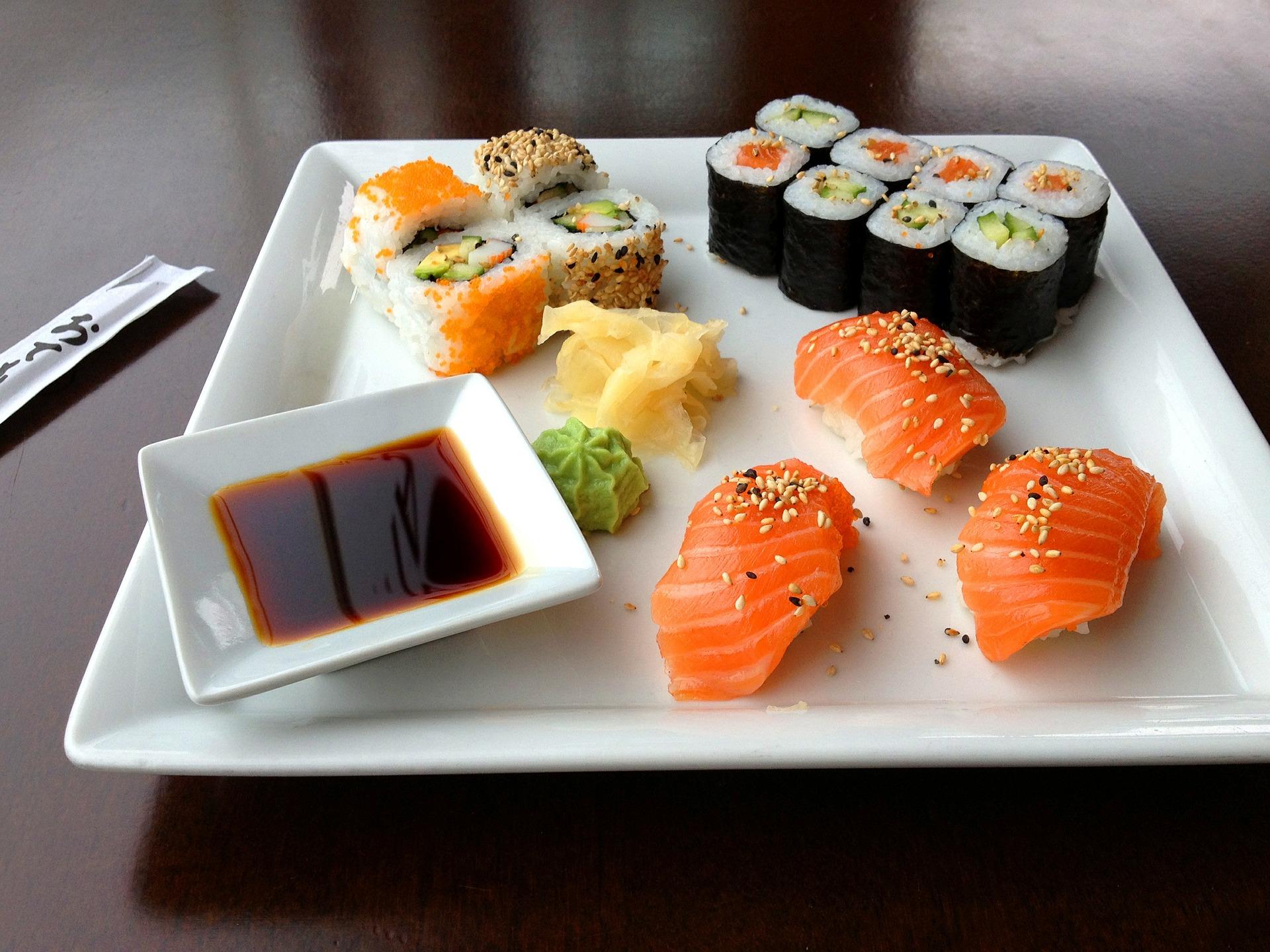 Maak je eigen sushi!