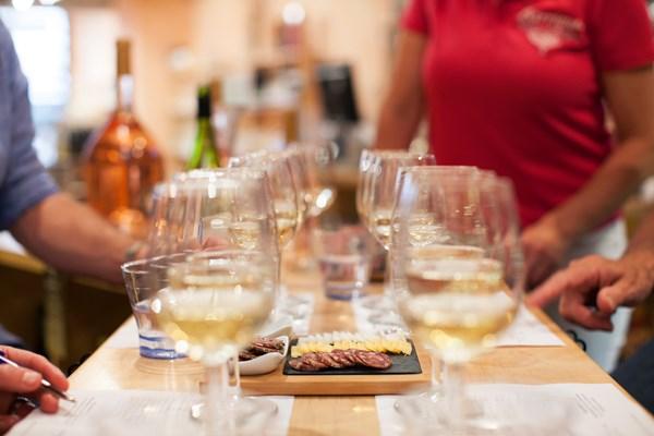 Barrique wijnproeverij