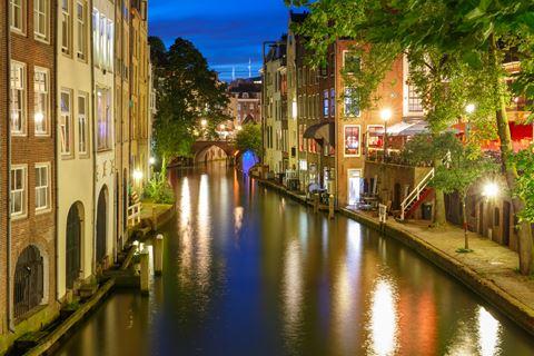 Kanoën by night bij De Rijnstroom
