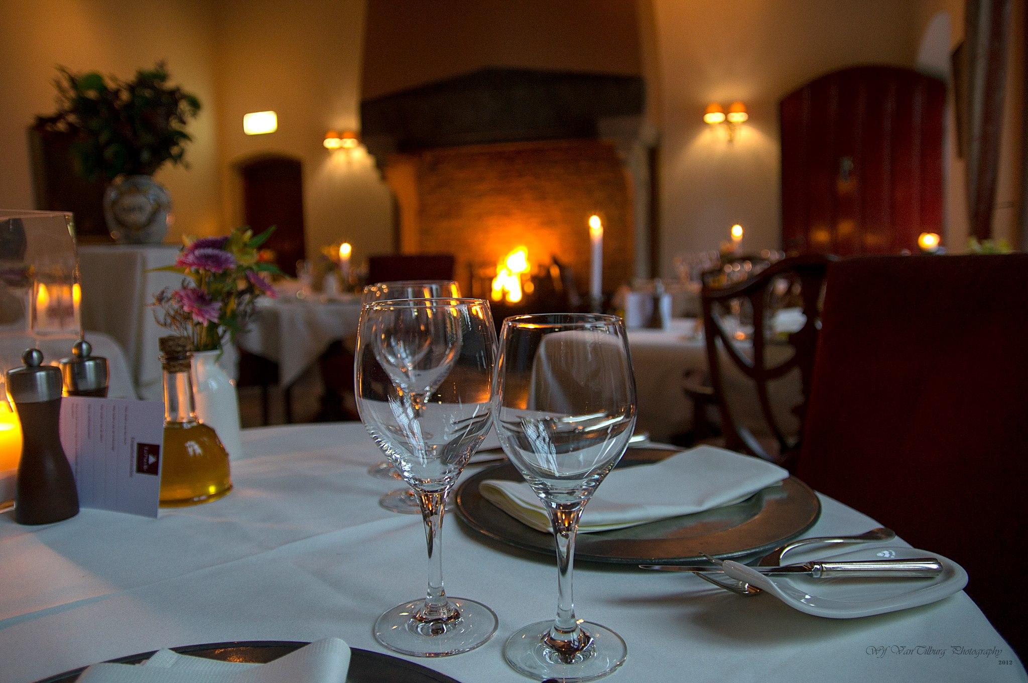 Dineren in het 15e eeuwse stadspaleis!