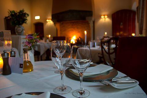 Diner bij restaurant La Pucelle