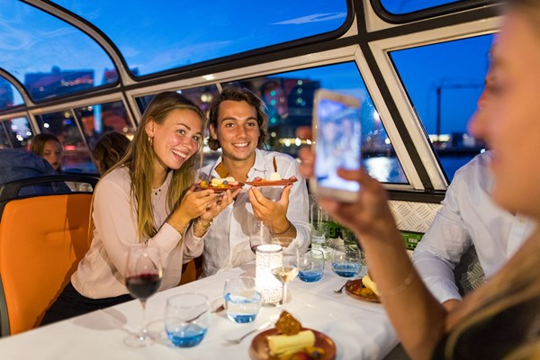 Romantisch diner rondvaart