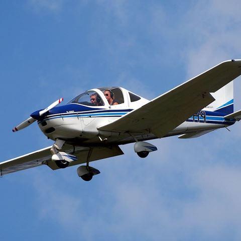 Zelf in een vliegtuig vliegen
