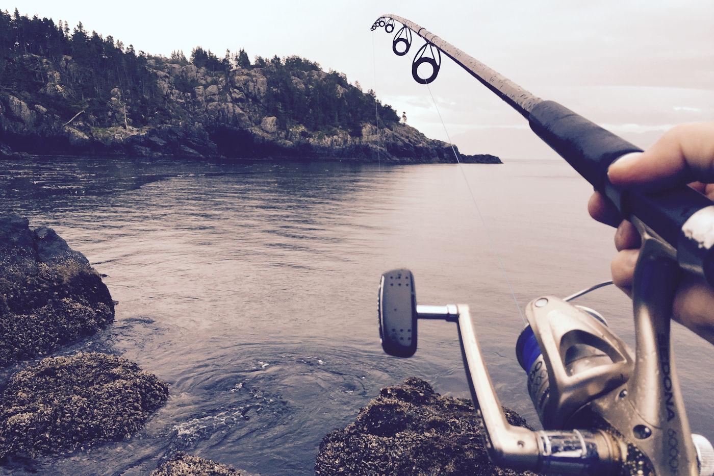 Zalm vissen in Zweden!