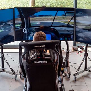 VR racing experience