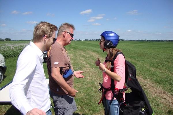Tandenvlucht paragliden