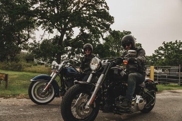 Harley tour vrienden