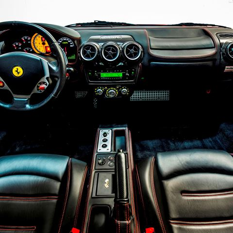 Ferrari F430 interieur