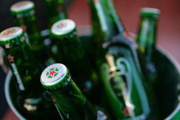 Heineken bier emmer