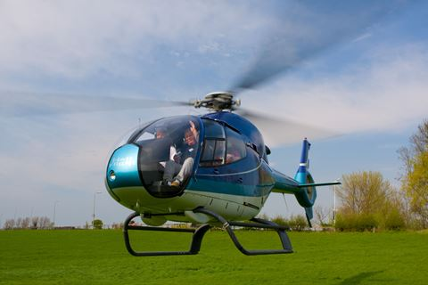 Helikoptervlucht van 15 minuten
