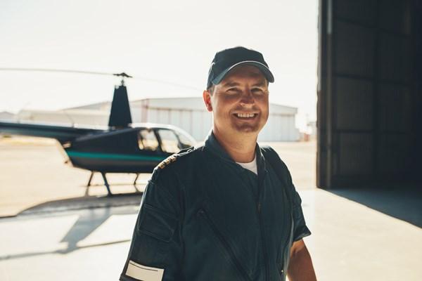 Piloot helikopter