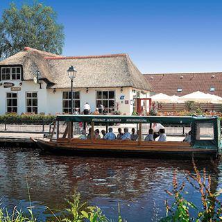 Rondvaart restaurant de Rietstulp Giethoorn