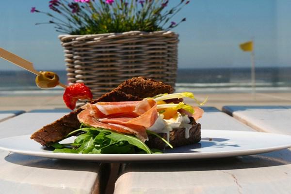 Lunch broodje beachclub