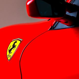 Ferrari F430 rood