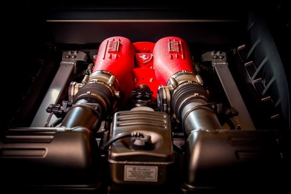 Motor Ferrari F430