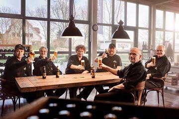 Bier drinken Hertog Jan