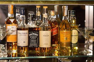 Diverse soorten whisky