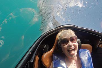 Onderwatercapsule haai