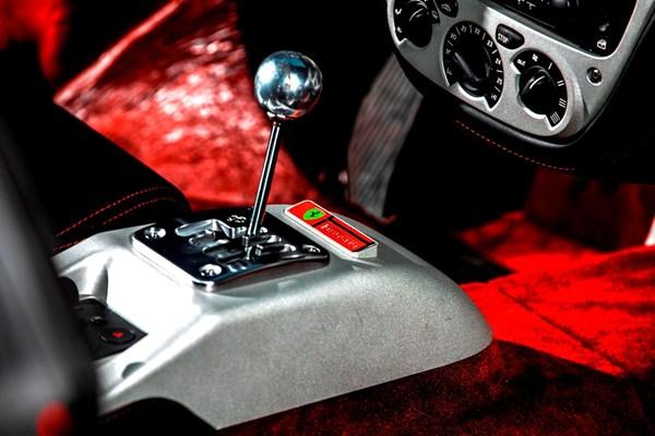 Details interieur Ferrari