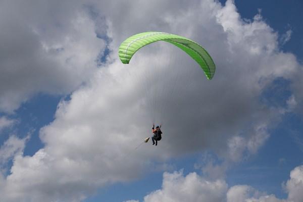 Paragliding in Nederland