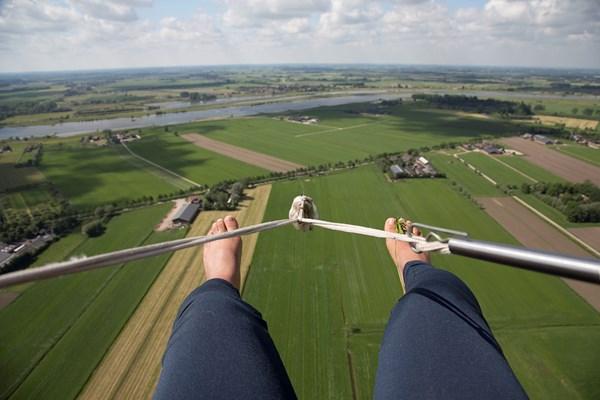 Paragliden met uitzicht