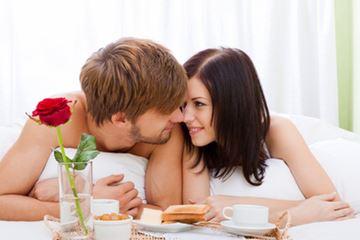 Romantisch stelletje