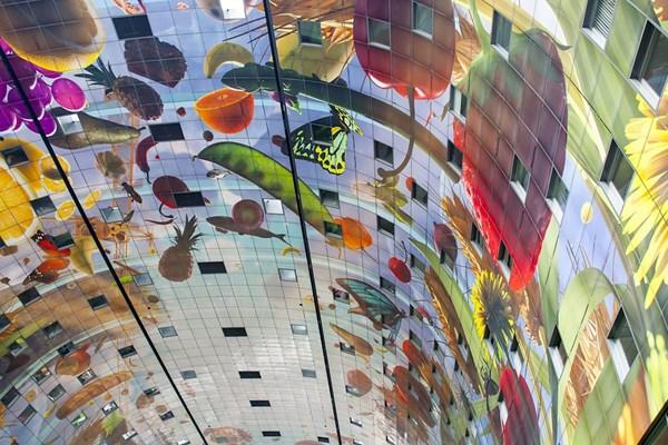 Kunstwerk Markthal