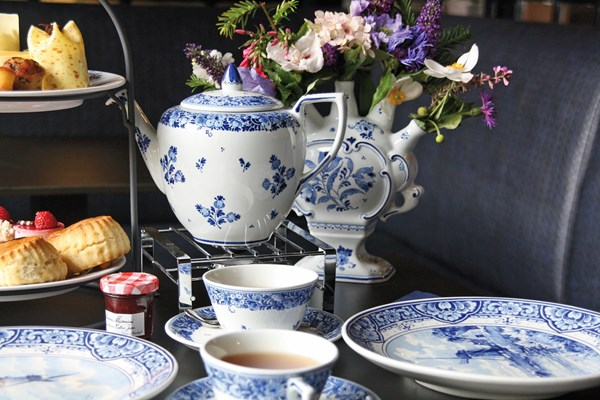 Delfts Blauwe high tea