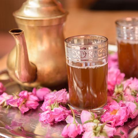 Marokkaanse High Tea