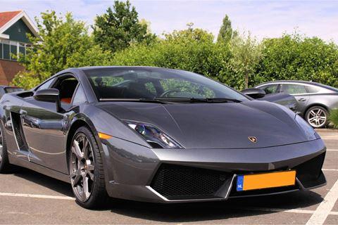 Rijden in een Lamborghini Gallardo