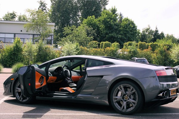 Rijden In De Lamborghini Gallardo