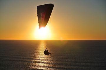 Uitzicht paragliden