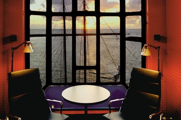 Uitzicht Havenkraan Harlingen