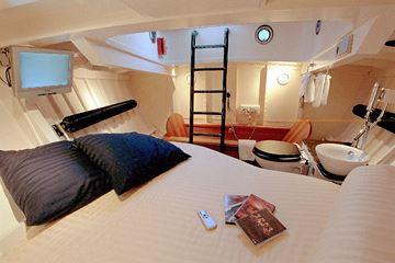 Slaapruimte reddingsboot Harlingen