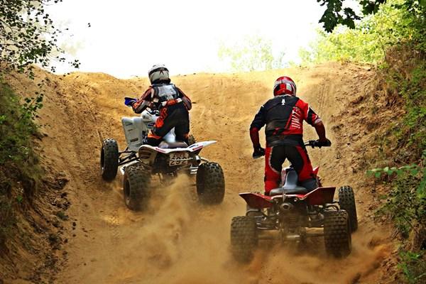 Samen quad rijden
