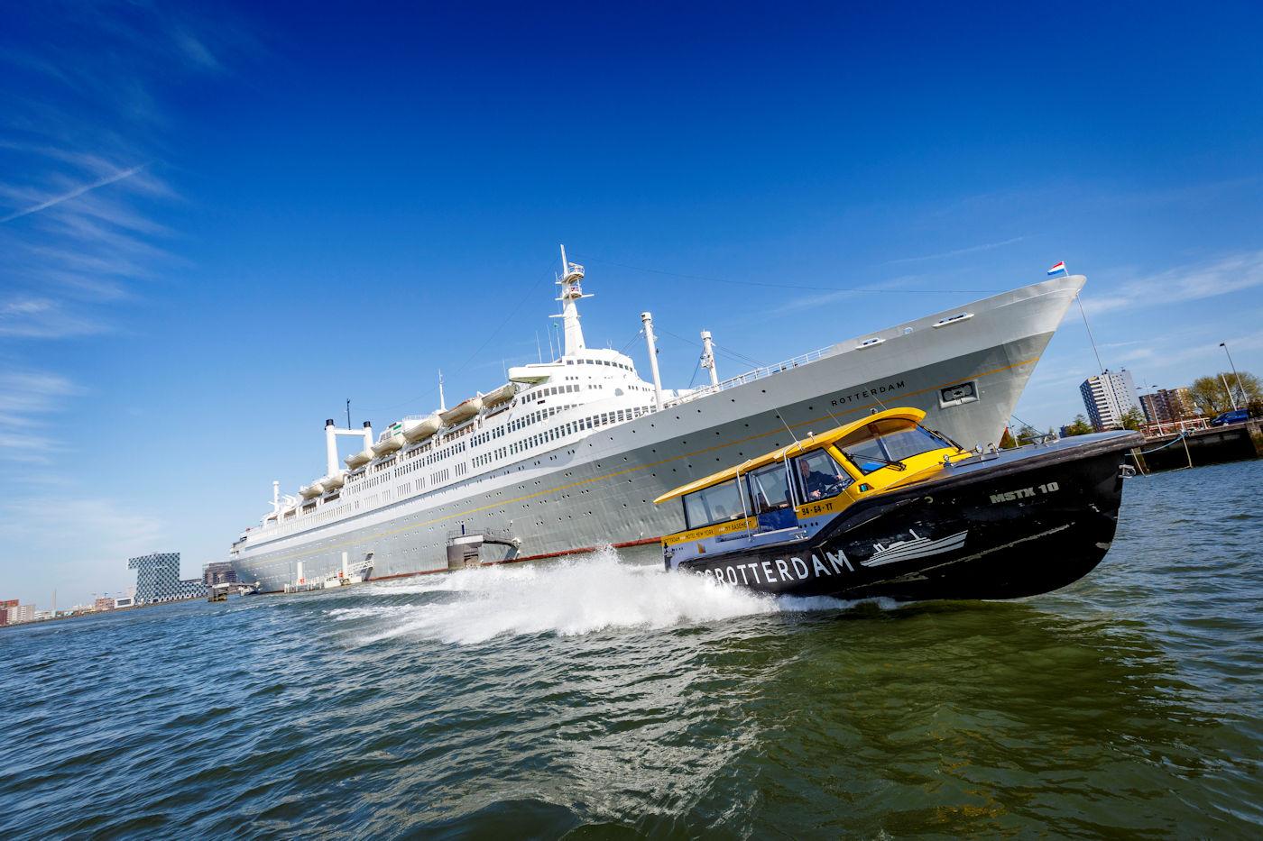 Rondleiding op het ss Rotterdam!
